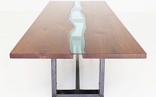 Custom River Conference Table