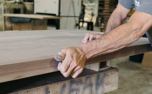 Greg Pilotti Furniture Makers Creating a Table