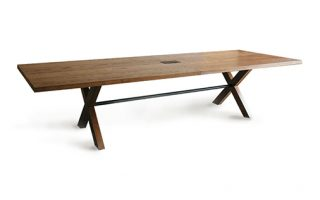 long custom conference table