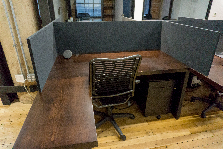 Custom Desk made from reclaimed wood