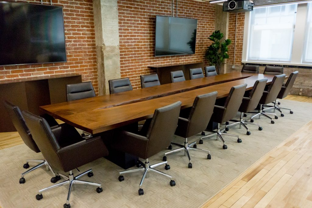 Custom Reclaimed Wood Conference And