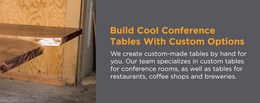 build cool conference tables