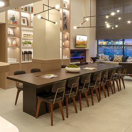 custom meeting room table