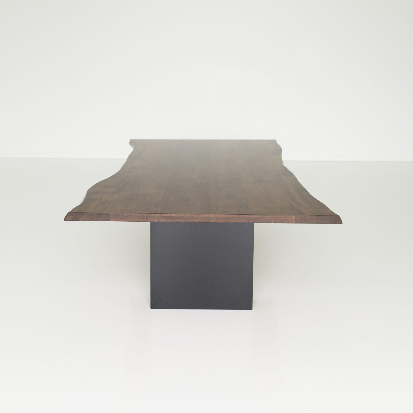 dark wood custom conference table