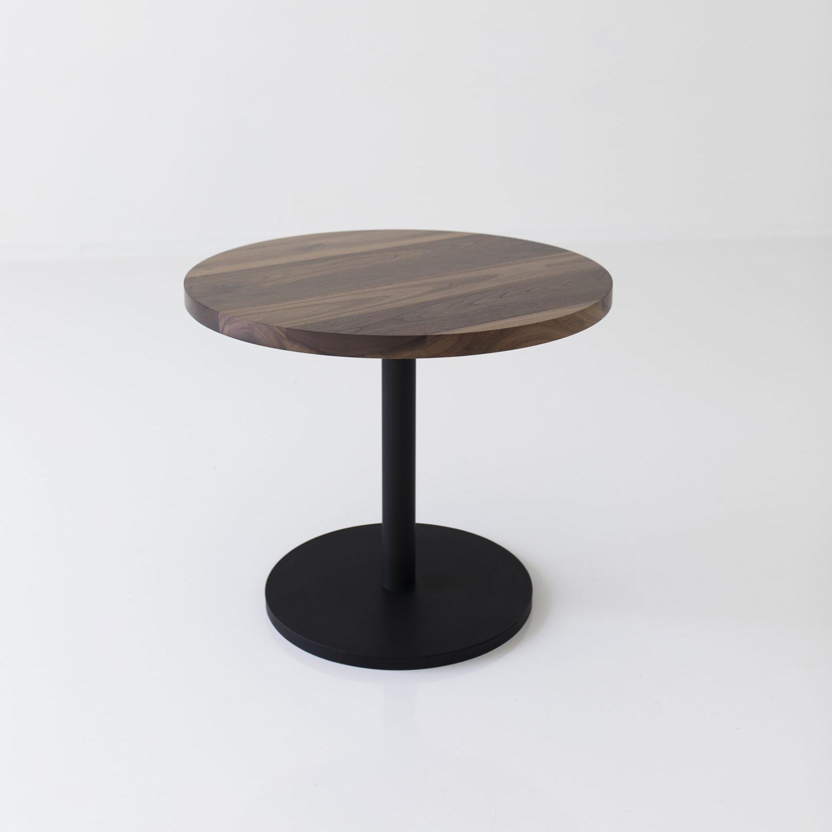 wood circle table
