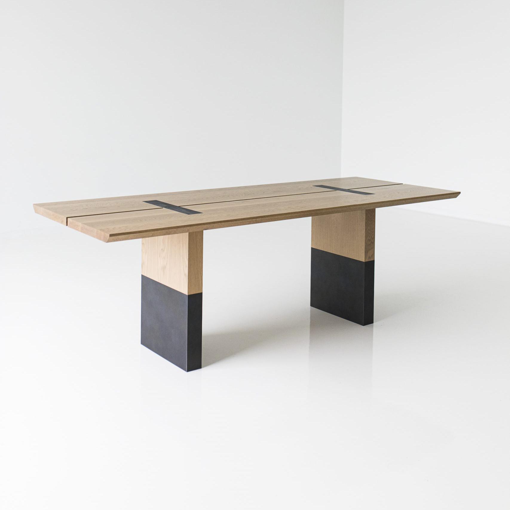 custom wooden meeting room table