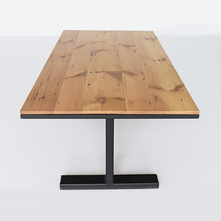 Wood board meeting table