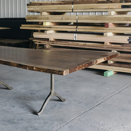 single slab table