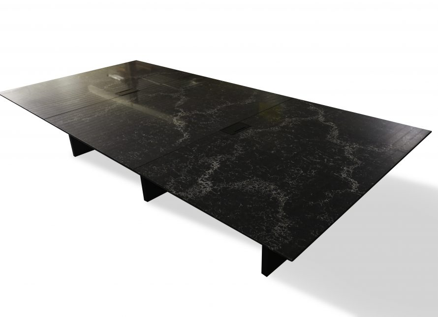 quartz boardroom table