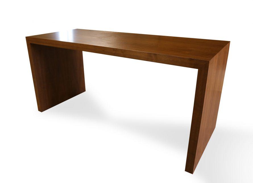 waterfall veneer table