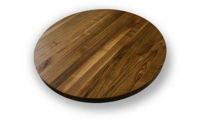 wooden restaurant circle top