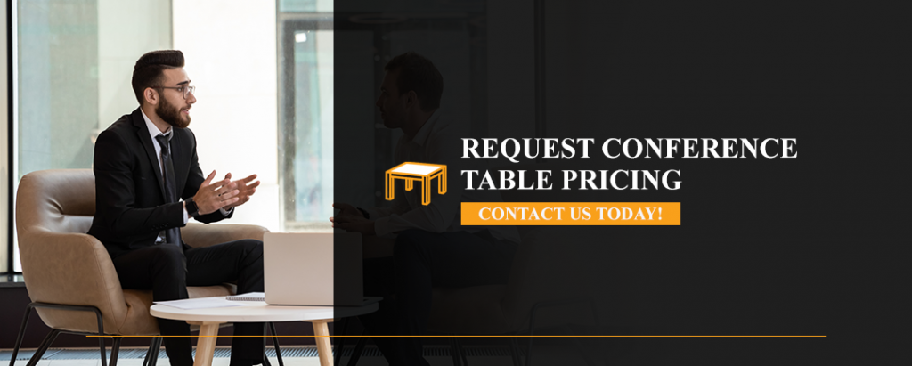 request conference table pricing
