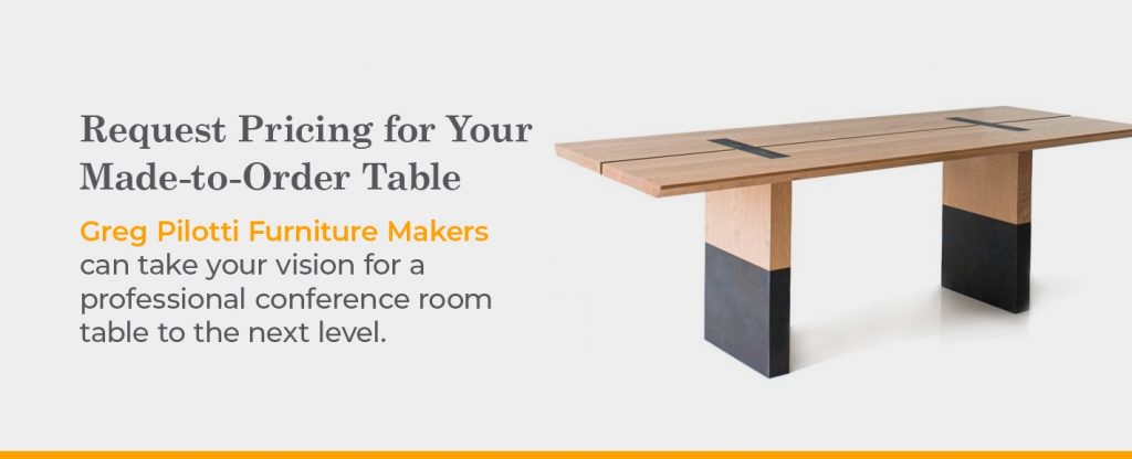 custom conference room table pricing