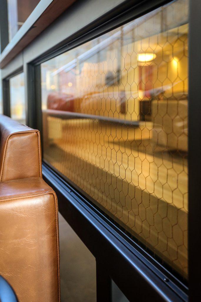 custom glass interior