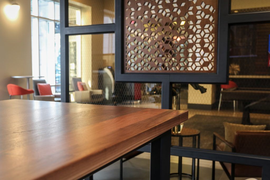 custom design wood interior